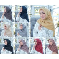 Jilbab/hijab Segi Empat Bella Square/ Laudya Square
