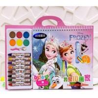 Buku Mewarnai Anak SET / Coloring Book / Mainan Edukasi Anak