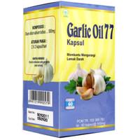 Garlic Oil 77 60 Kapsul Minyak Bawang Putih Garlic Oil 77 60 Kapsul