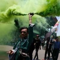 Smoke Bomb Double Blast / Smoke Militan / Smoke Dua 2 Sisi /Asap Warna