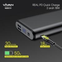 Powerbank 20000mAh Fast Charging (PD+QC3.0) VIVAN VPB-H20S