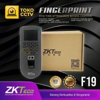 Finger print/mesin absensi door lock ZKtecko F19