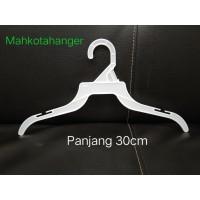 Hanger Plastik Baju TP 12 Inch | Gantungan baju anak 1lusin (12pcs)