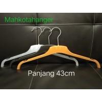 Hanger Plastik Baju ERA 282 Tebal / Gantungan kaos pakaian dewasa