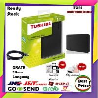 Toshiba Canvio Ready 1TB - HDD HD Hardisk Eksternal - GRATIS 2HADIAH
