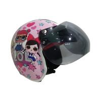 Helm Anak Bogo Gambar Karakter Untuk Perempuan