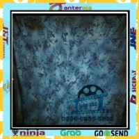 background foto abstrak biru bercak 2,5x3m