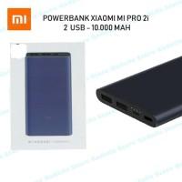 Powerbank Xiaomi Mi Pro 2i 10000mAh 2 USB FAST CHARGING PB Mi2i Mi