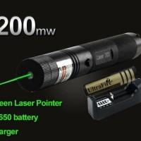 Green Laser Pointer 303 Senter Laser Hijau Variasi
