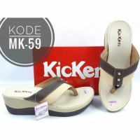 Sandal Merk Kickers Wanita Wedges