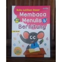 Buku Anak : Buku Latihan Dasar Membaca Menulis & Berhitung