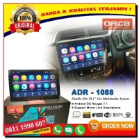 ORCA ADR-1088 Head Unit Android Double Din ADR1088 Tape Berkualitas