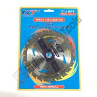 GT JAPAN Circular Saw Blade 7 x 24T ULTRA THIN Mata Pisau Potong Kayu