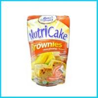 Nutricake Nutri Cake Brownies Instant Rasa Mixer Tanpa Pisang