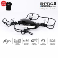 BRICA B-PRO 5 SE Sky Explorer Drone + Black T-shirt Happypedia