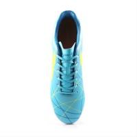 Sepatu Bola Ortuseight Ventura FG BLUE PALE CYAN MINION YELLOW