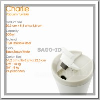 [PUTIH] Mighty Mug / Botol Ajaib Anti Tumpah Termos Gelas Tumbler