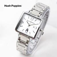 jam tangan HUSH PUPPIES WANITA KOTAK RANTAI SILVER ROSE BLACK BLUE