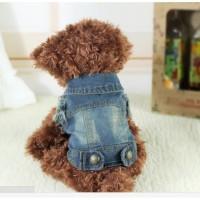 Rompi Model Koboi Dengan Topi Untuk Teddy Anjing