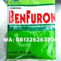 BENFURON 25gr 25 gr 25gram 25 gram 12/18WP HERBISIDA PADI