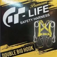 FULL BODY HARNESS DOUBLE BIG HOOK / SAFETY BELT DOUBLE HOOK