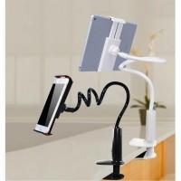 Lazypod Arm Universal Tablet PC Holder dengan Klip 360 Derajat