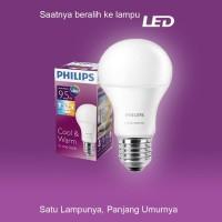 Lampu Philips LED Bulb Scene Switch 9.5-70W E27 3000/6500K