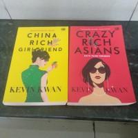 Buku Novel Terjemahan Kolpri China Rich Asians Crazy Rich Girlfriend