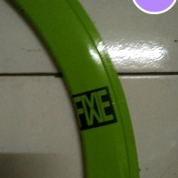 Rims Sepeda Fixie Green 5Cm 700C 36H L Rims Sepeda Fixie 5 Cm 700C 36H