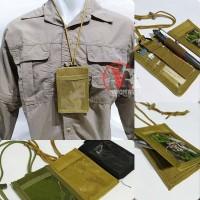 ID Card Tactical Holder ACM Lanyard Sling