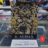 Kemeja batik Alisan lengan panjang original reguler fit uk 16,5
