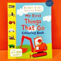 My First Things That Go : Colouring Book (Activity Books) - BBW