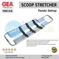 GEA Tandu Lipat /Scoop Stretcher Alluminium Silver YDC 4 A