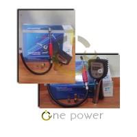 Alat pengukur tekanan angin - Tire inflator digital gauge.