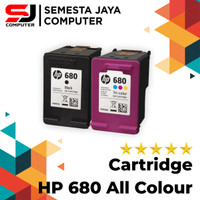Catridge Tinta Hp 680 Color/Black Original