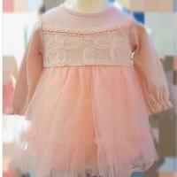 baju bayi anak gaun pesta dress baby anak perempuan impor