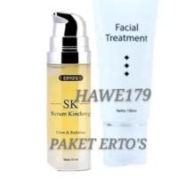 PAKET ERTO'S | Ertos facial Treatment + Ertos Serum Kinclong SK BPOM