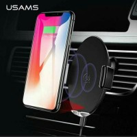 Usama Car Air Vent Smartphone Holder Qi Wireless charger 10W-US-CD64