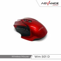 Advance WM501 D - Mouse Wireless / Mouse Gaming