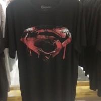 Baju Kaos Pria Motif Superman