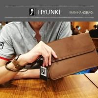 CLUTCH BAG IPAD MINI PRIA DOMPET TAS TANGAN KULIT -NEW Ishiya Hyunki-