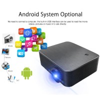 Wejoy L6+ proyektor/Projector 1080P 4k Wifi Blooth