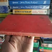 Buku Langka Guide To Radio Technique Th 1964 - Julander