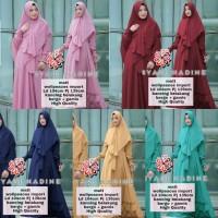 gamis syari nadine 21 / pakaian muslim wanita