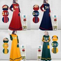 maxi dress zr 21 / gamis muslim wanita