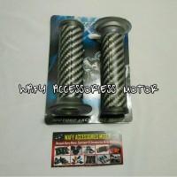 Handgrip stang motor nitex carbon