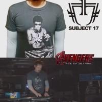 Kaos Tony Stark Bruce Lee DJ Iron Man The Avengers 2 IRONMAN TSHIRT