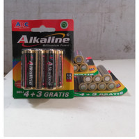 ABC Alkaline ORI AA / A2 - 7pcs Promo