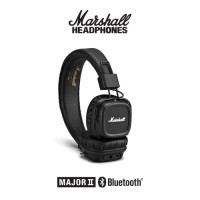 Headset marshall bluetooth major 2 Original warna hitam dan coklat