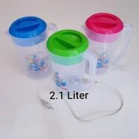 Teko Litrik Plastik 2.1 Ltr Lion Star/ Eskan Listrik LS